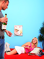 Couple Drinks Champagne And Then Get Nice Anal Sex. - Picture 3